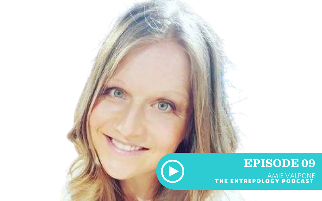 EPISODE 009: THE HERO'S JOURNEY TO HEALTH WITH CLEAN EATING EXPERT AMIE VALPONE