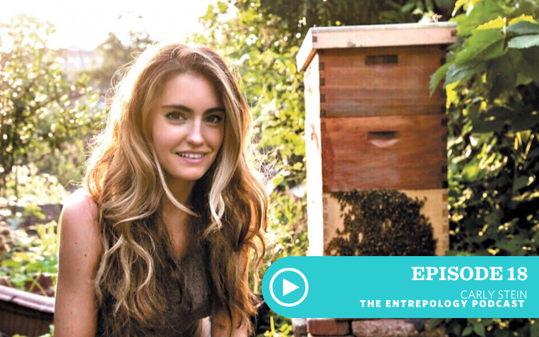 EPISODE 018: BEEKEEPING, BUSINESS AND HEALTH WITH CARLY STEIN