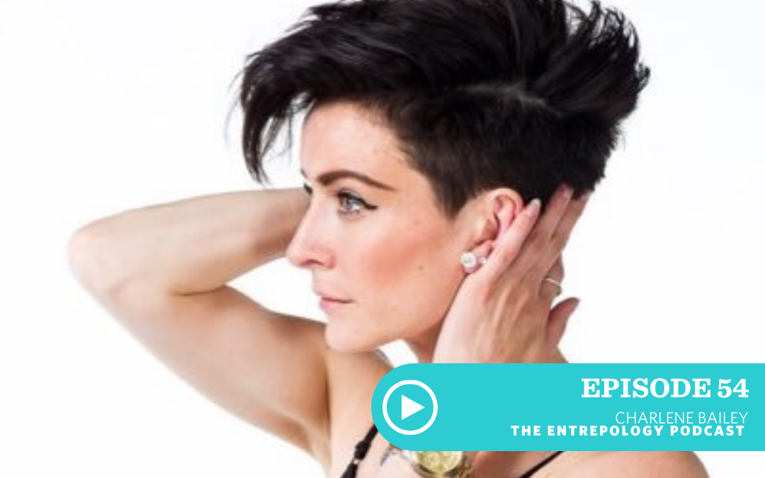 Episode 054: Feminism through apparel — how a former figure skating is looking to change the narrative with Charlene Bailey