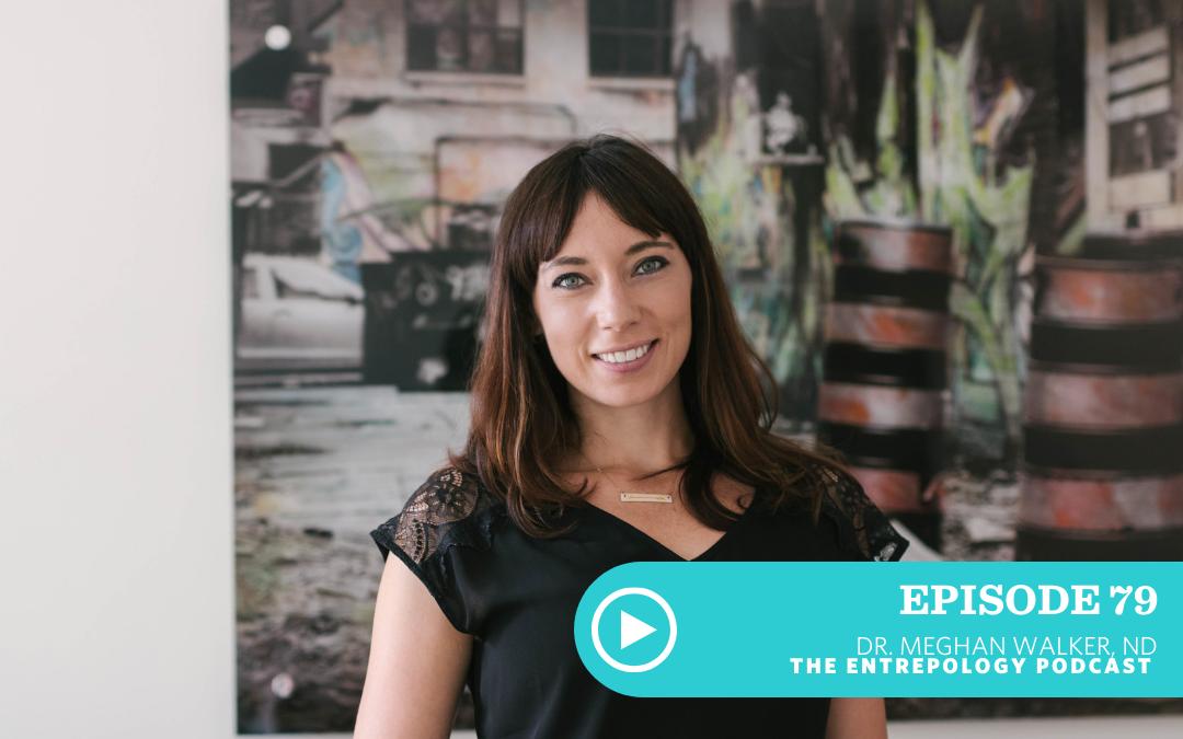 Episode 079: Energy Hacks for Entrepreneurs with Dr. Meghan Walker, ND