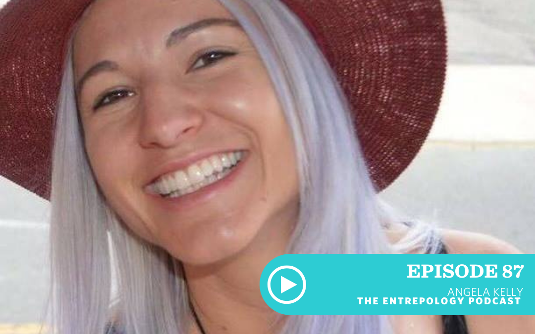Episode 087: How to Launch a Food Product Like a Boss with Angela Kelly