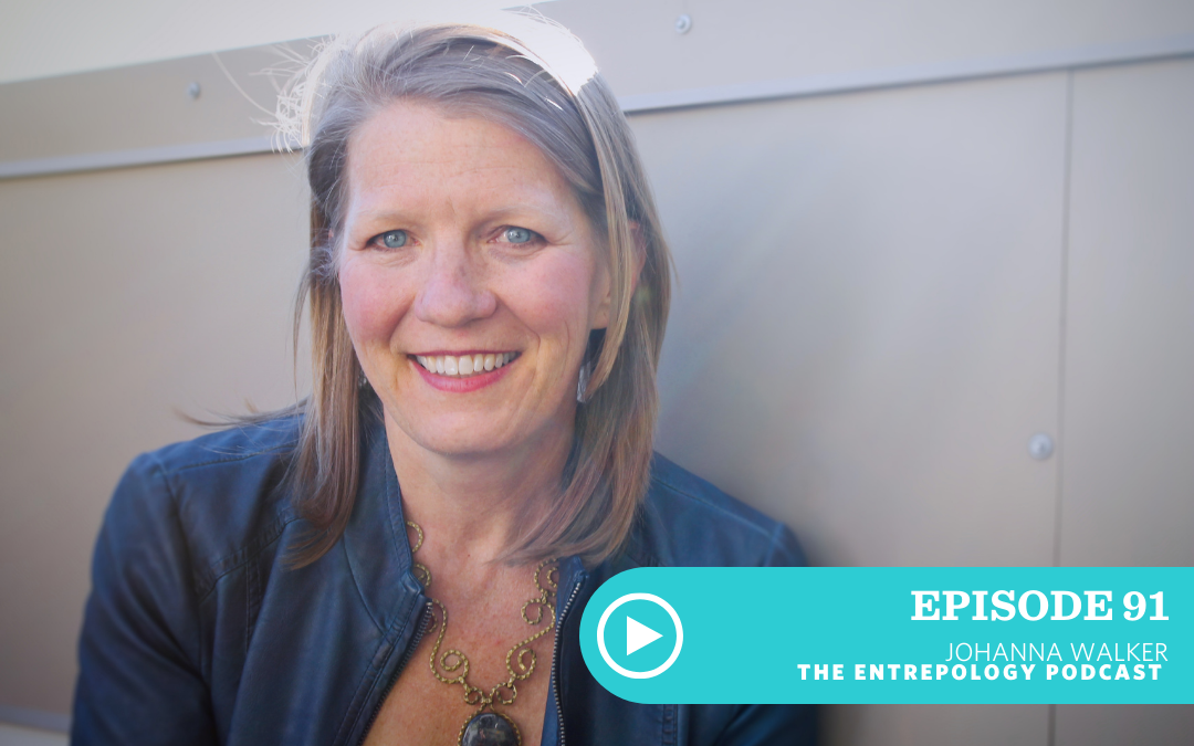 Episode 091: How to Get Over Your Fear of Public Speaking and Connect to Your Story, with Johanna Walker