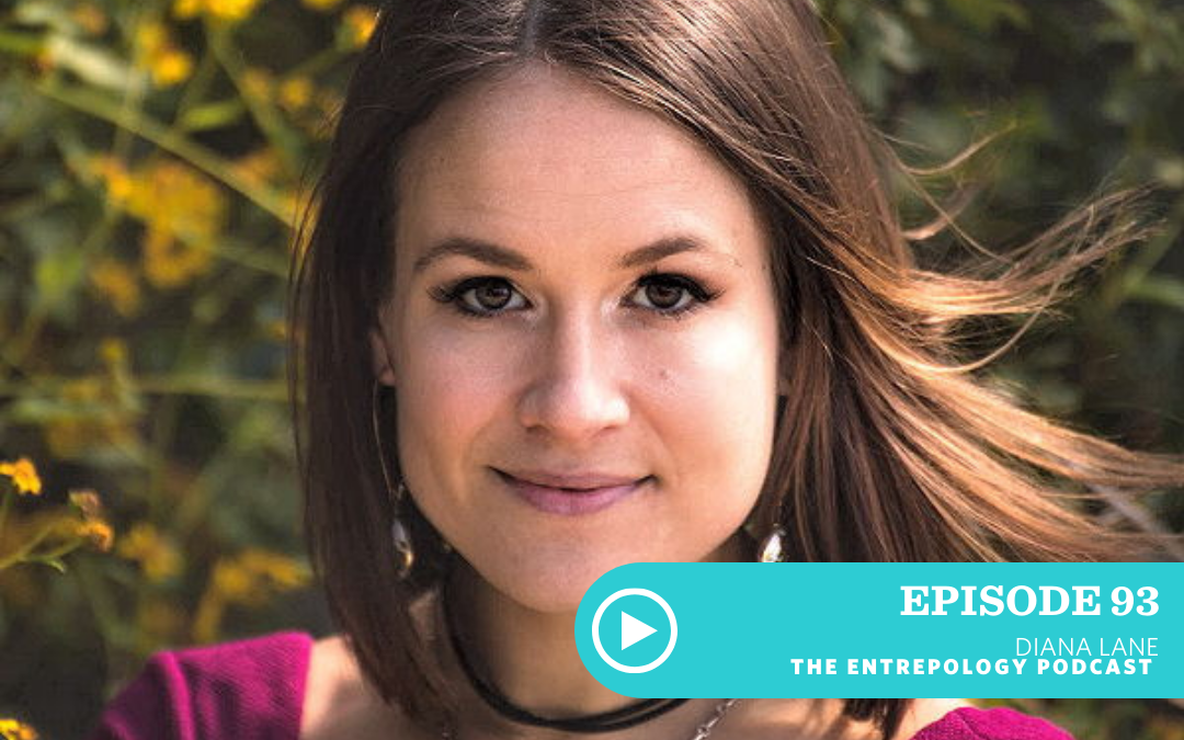 Episode 093: Your Cycle, the Moon, and Your Physiological Power as a Woman on a Mission with Diana Lane