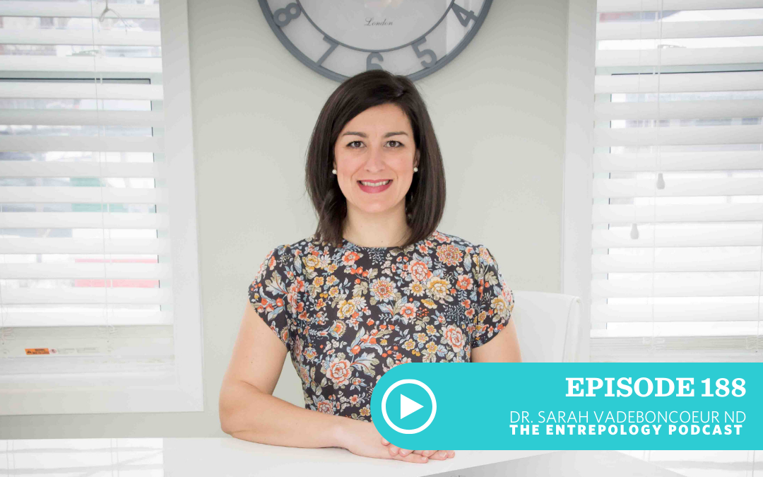 Episode 188 – Body: Is Your Thyroid Stealing Your Energy? Here's How to Make it Happy Once Again with Sarah Vadeboncoeur
