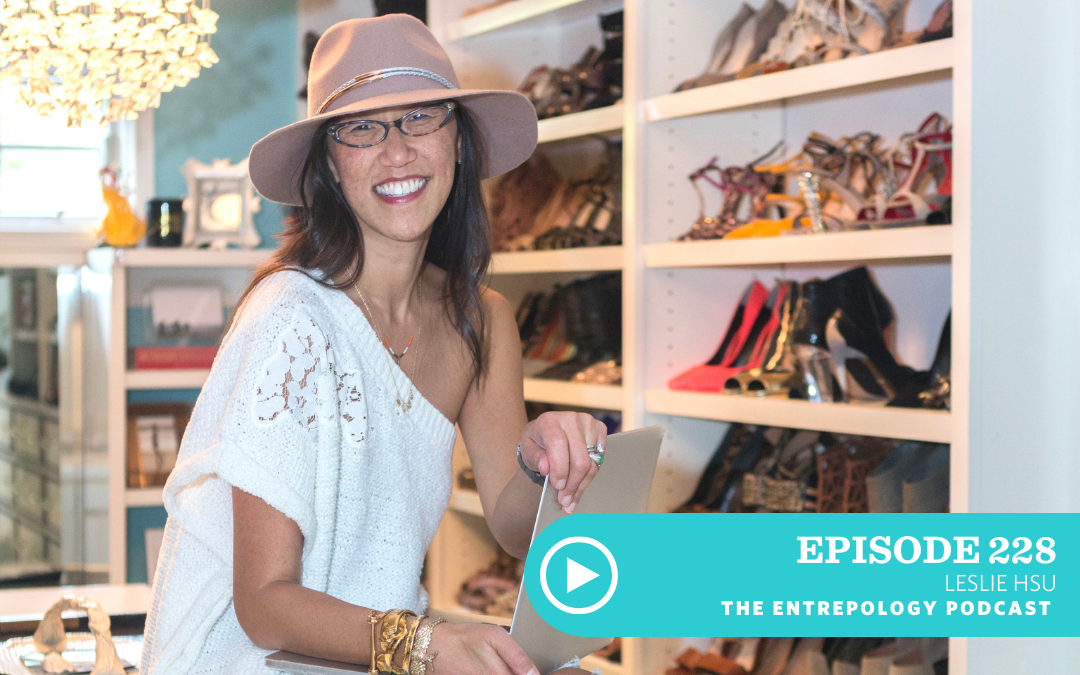 Episode 228 – Business: Going from Idea to Full-Blown Product Launch… What It Takes to Bring an Idea Into the World with Leslie Hsu